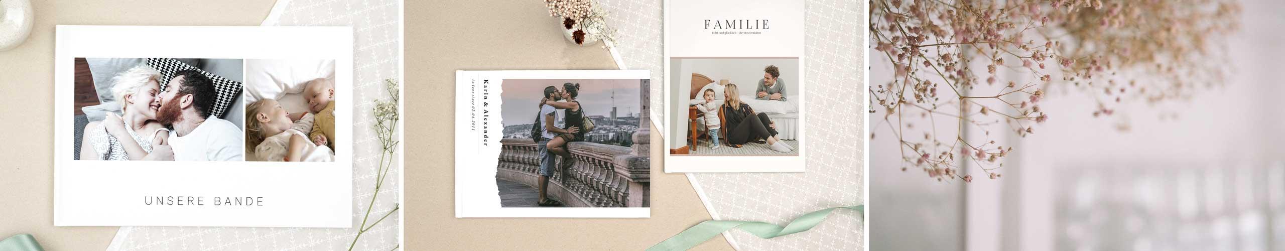 Kreative Vorlagen Für Fotobücher Einfache Online Gestaltung