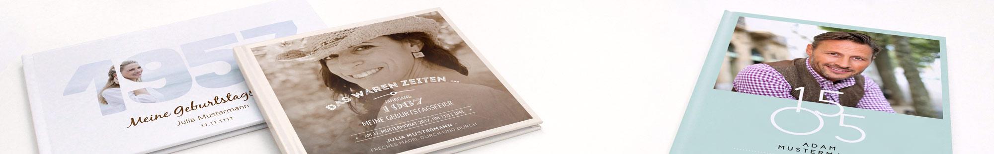 Zur Erinnerung Fotobuch Geburtstag