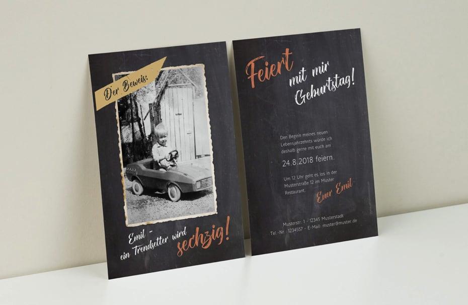 Einladungskarten Gestalten Einladungskartens 50: Einladungskarten Zum Geburtstag Selbst Gestalten