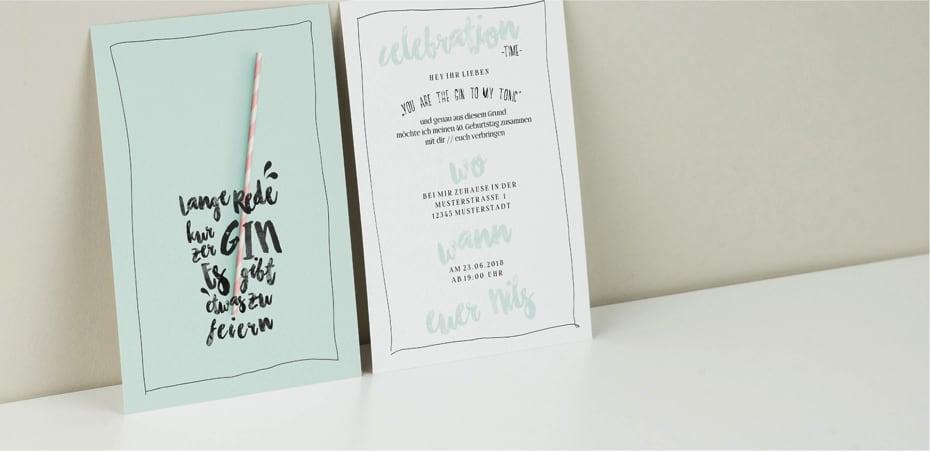 Geburtstagskarten zum ausdrucken und selber gestalten